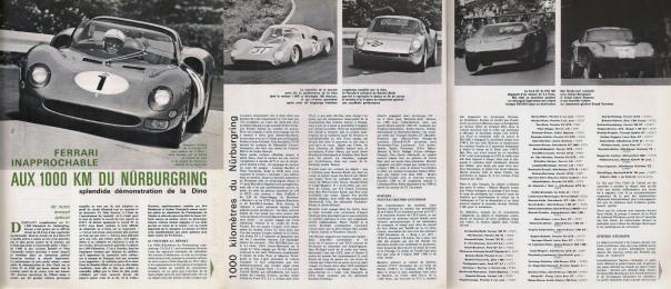 Sport auto 65 07 david 1000 Km Nurburgring 1 SportautoJulliet1965_1